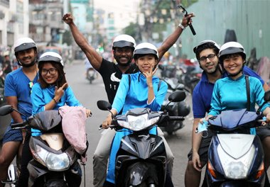 motobike tour in ho chi minh city