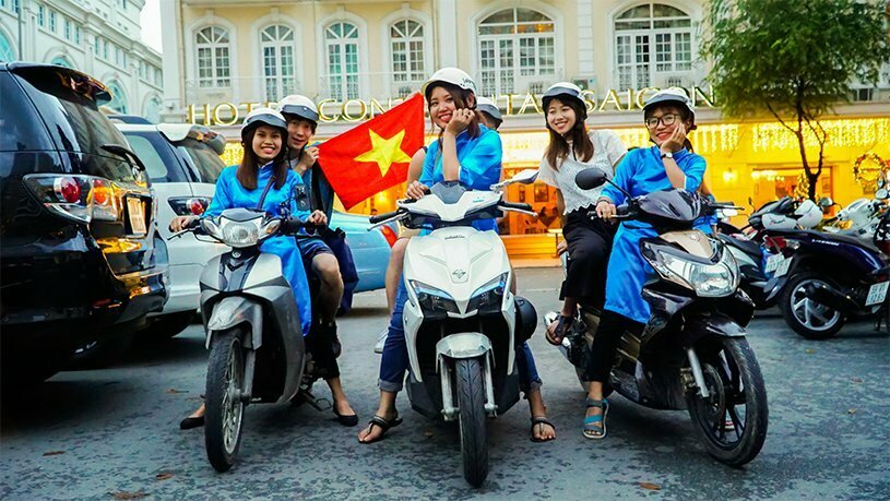 Saigon motorbike food tour in Ho Chi Minh city