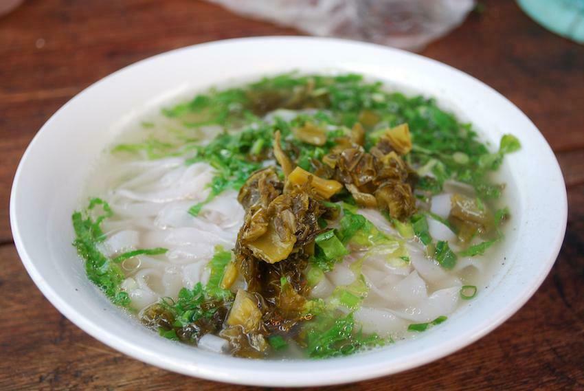 vegetarian Pho in ho chi minh pho chay Nhu